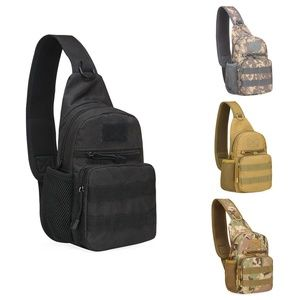 Men Tactical Crossbody Bag Sling Military Backpack